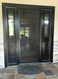 Genius® Milano 100 - Single Retractable Screen Door