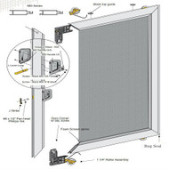 Wholesale Sliding Screen Door - Un-Assembled