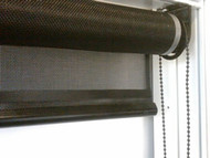 Interior Roll Up Shades Stock Size  48 Inch x 72  Inch