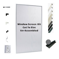 Window Screen Kit  for 3 to 5 Screens - DIY and SAVE on Shipping & Lead Time