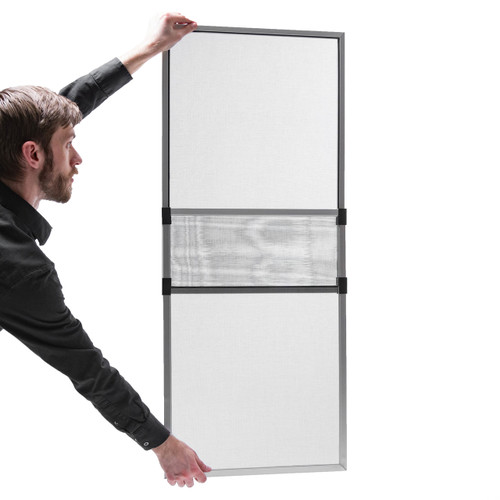 "15"" High x  20"" to 37"" Width Adjustable Window Screen"