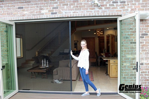 Genius®  ZIGZAG - The Retractable Single Screen Panel