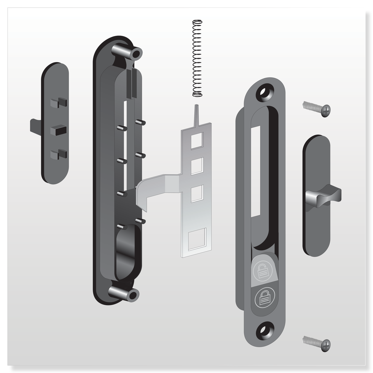 1580 XO Series Handle Set