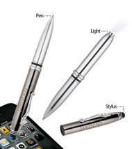 Metro Pen With Flashlight And Stylus