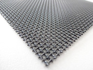 48 Inch x 25 Ft BLACK Stainless Steel 023 diameter