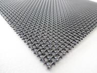60 Inch x 25 Ft BLACK Stainless Steel 023 diameter