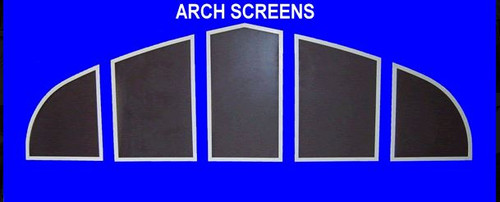 Arched Security Screens