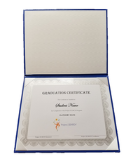 Graduation Certificate Cover