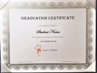 2019 Customizable Graduation Certificate