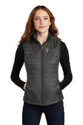 Ladies Packable Puffy Vest