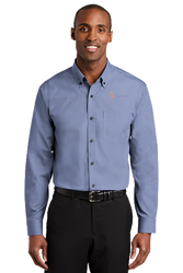 Sale! Mens Redhouse Non-Iron Shirt (M-Navy)