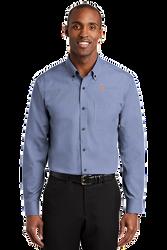 Sale! Mens Redhouse Non-Iron Shirt (L-Navy)