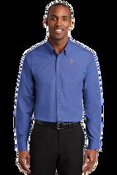 Sale! Mens Redhouse Non-Iron Shirt (L-Med blue)