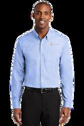 Sale! Mens Redhouse Non-Iron Shirt (L-Pearl Blue)