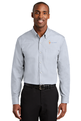 Sale! Mens Redhouse Non-Iron Shirt (2XL-Ice-Grey)
