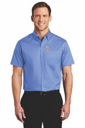 Sale! Mens Twill Shirt (2XL-Ultramarine Blue)