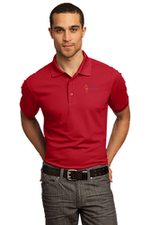Sale! Mens High Performance Polo(M-Red)