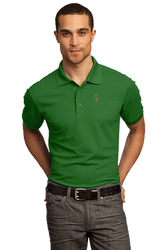 Sale! Mens High Performance Polo(L-Green)