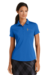Sale! Ladies High Performance Polo(2XL-Gym Blue)