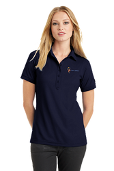 Sale! Ladies  OGIO Pique Stay Cool Polo(L-Navy)