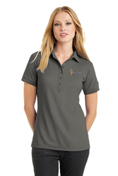 Sale! Ladies  OGIO Pique Stay Cool Polo(L-Grey)