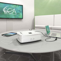 Getaway Charging and Meeting Station (4 Power - 4 Active USB plus HDMI Video Sharing)