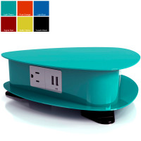 Drifter - Designer Colors (3 Power plus 6 USB Charging Ports) - Light Green