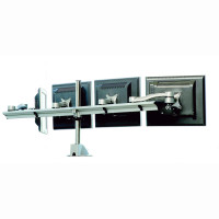 Parabolic Quad-Screen Beam Mount Monitor Arm