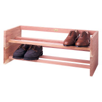 Aromatic Cedar Shoe Rack