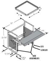 Nova Workstation - Retrofit Kits - CRT-Semi Recessed