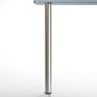 """Glass Top Table Leg, Set, 28-1/2""""Tall"""