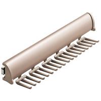 Hafele-Tie-Rack-with-full-extension-slide-807.67.201-Matt Nickel