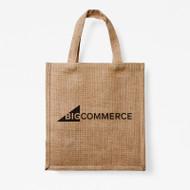 BigCommerce Burlap Tote Bag