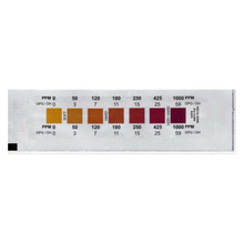 Total Hardness Test Strip 0 - 1000 ppm Pack of 50