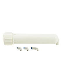 Membrane Housing for Domestic Reverse Osmosis System With Fittings