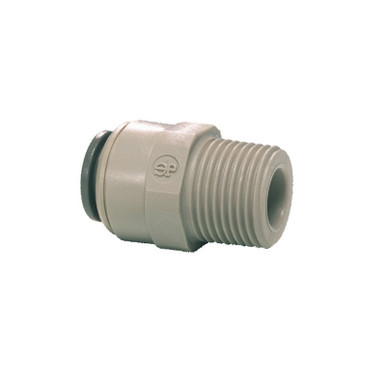 "John Guest Male Adaptor 1/4"" Push Fit x 1/4"" BSP Male"