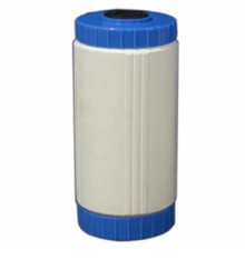 "Refillable-Empty Cartridge Case 10"" Jumbo blue/white"