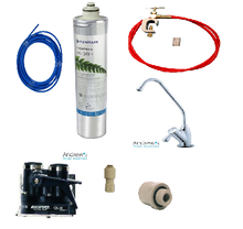 H-300 Filter System DIY Fit With Heavy Duty Chrome Ceramic Valve Faucet Tap
