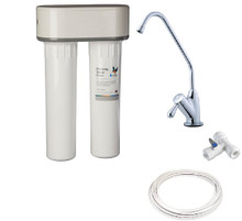 Complete Doulton Duo Fluoride Removal Kit with Installation Kit and Premium Tap