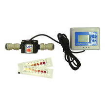 "Digital Water Meter + Test Kit with 3/8"" Push fit adaptors"