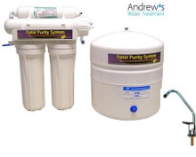 Total Purity Reverse Osmosis System with Remineralising Filter