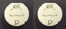 UV lamp connectors (pair) for Aquacure 'G' & 'B' ranges.