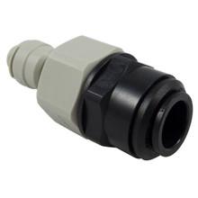 "John Guest Motor Home  Caravan 12mm Push fit x 1/4"" Push fit adaptor"