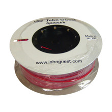 "John Guest Tubing 1/4"" Red (500ft / 150m Coil)"