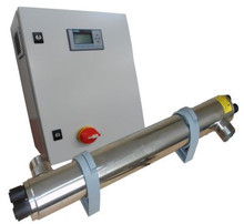 Daro 4 series 75 Watt UV system rated at 140 Litres Per Minute