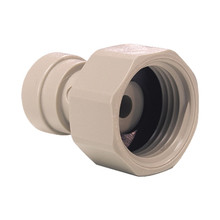 "John Guest Female Adaptor - 3/8"" PF x 1/2"" BSP - Flat End"