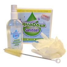 Aqua Dosa S11 Sanitising Kit - Spray Brush & Gloves