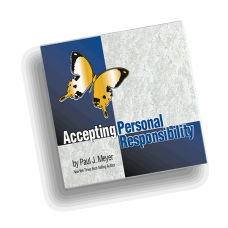Accepting Personal Responsibility