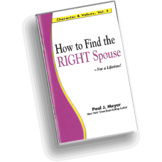 Character and Values, Vol. 3 - How to Find the Right Spouse (pack of 10 booklets)