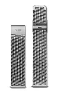 Cluse La Bohème Watch Strap Mesh Silver CS1401101008